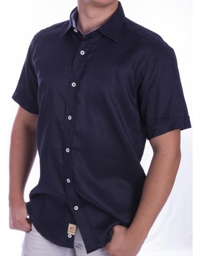 Camiseta de manga corta con corona-CRW-1006-03-LACI