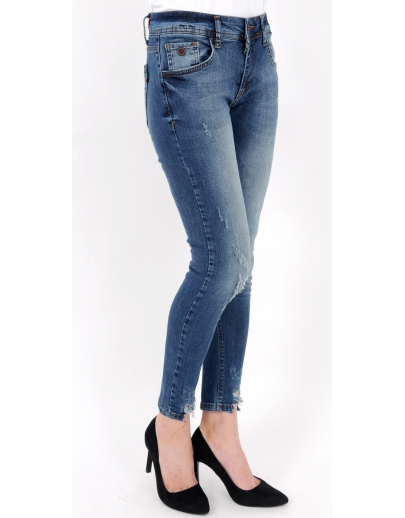 SET PANTALON DENIM JEANS CROWN 1338-18229-13697-1058-L27:28 29 30 31 32 33 34 36/8 BUC