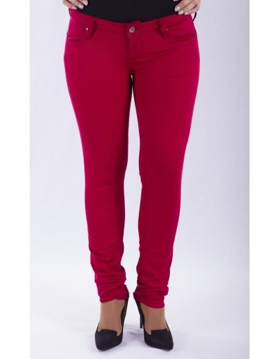 Pantalones de mezclilla mujeres CLARION-DAISY-2077-001-0012 KIRMIZI