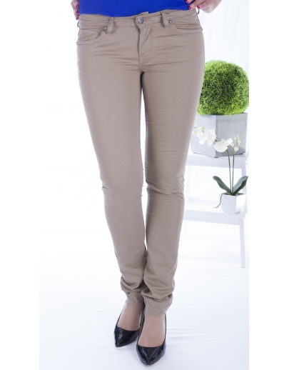 DENIM TROUSERS DAME CLARION-PASSION-2619-500-008-BEIGE
