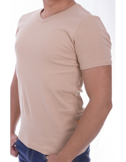 T-shirt AFM ANCHIOR SNO + receiver2210-A.BEIGE