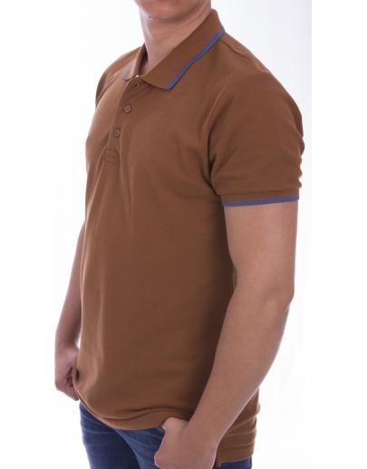 Camiseta COLLAR AFM -A.KAHVE SAO2390