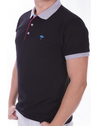 Camiseta collar AFM SAO2327-SIYAH