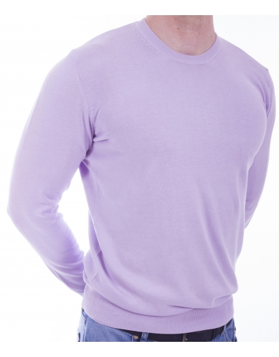 The AFM SWEATER-BASIC - BBC --21211 NIGHT-B-LILA