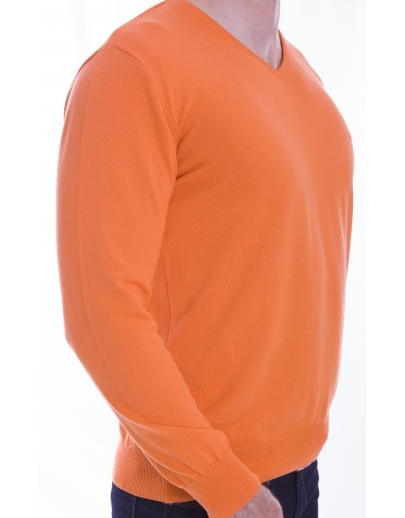 The AFM SWEATER ANCHIOR - BBC --42105-6 NIGHT-ORANGE-H5010