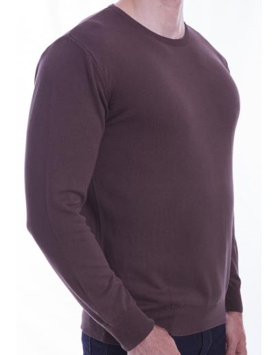 El suéter de AFM-BASIC - BBC --42105-5 KAHVE NOCTURNA