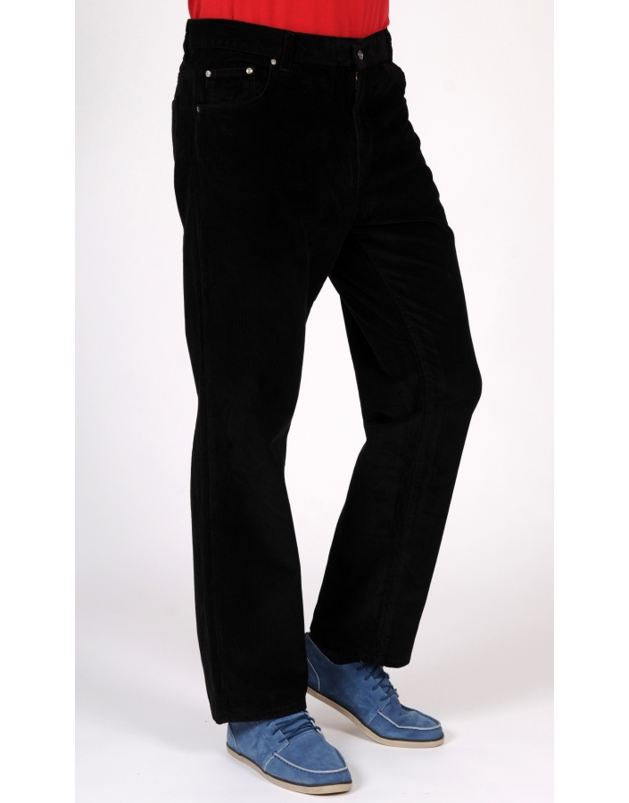 PANTALON DENIM RAIAT NEGRU FORZA-730-BATAL