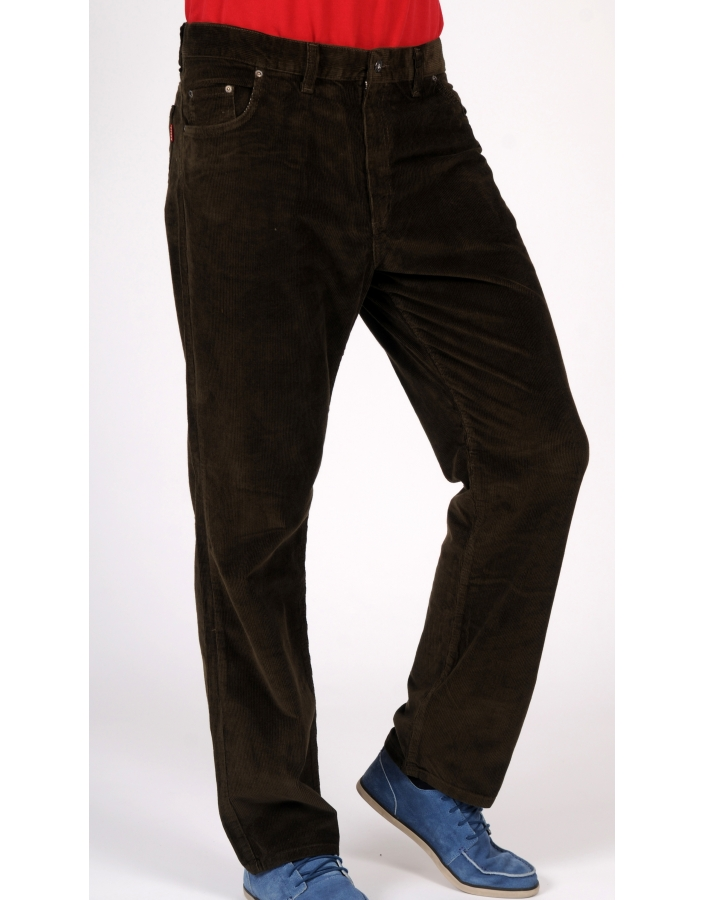 PANTALON DENIM RAIAT KAKI INCHIS FORZA-730-BATAL