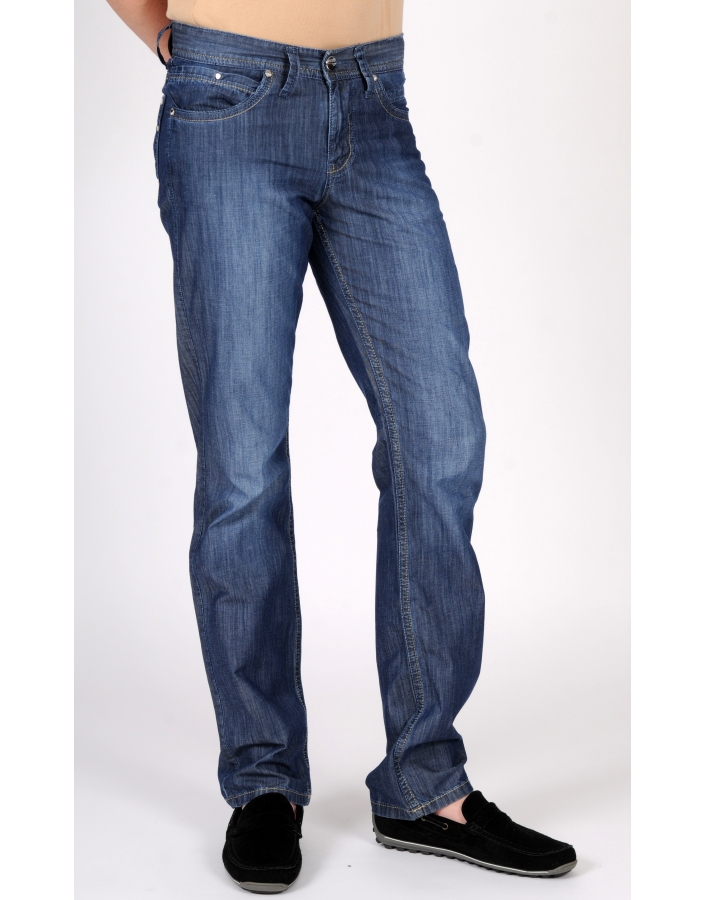 PANTALON DENIM JEANS LACARINO-RAGET-8924-DARK BLUE