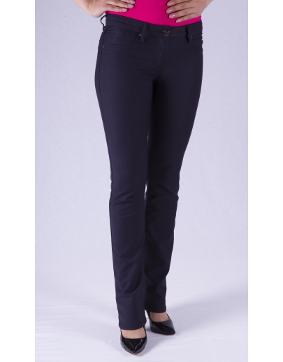 Pantalones de mezclilla mujeres LACARINO--3098.1-LACIVERT JASMIUM